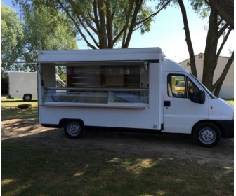 Camion magasin boulangerie snack pizza Food truck 1