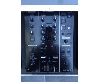 Pioneer cdj 350 (x1) & djm350 (x1) + Flight case DJ PRO-350F 3