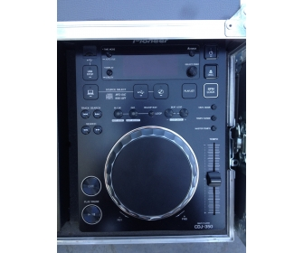 Pioneer cdj 350 (x1) & djm350 (x1) + Flight case DJ PRO-350F 2