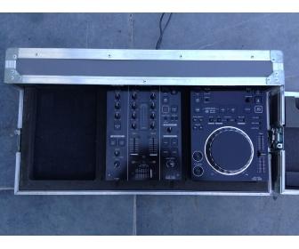 Pioneer cdj 350 (x1) & djm350 (x1) + Flight case DJ PRO-350F 1