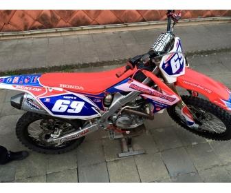 Moto Honda crf 450 Belgique 3