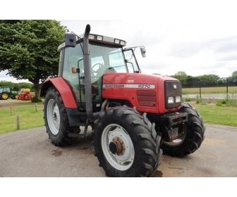 Tracteur agricole Massey Ferguson 6270 1