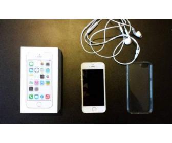Iphone 5s 64Go OR/ BLANC / GRIS débloqué 1