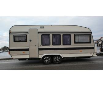 Caravane Hobby Prestige 1997 double essieux 1