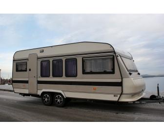 Caravane Hobby Prestige 1997 double essieux 2