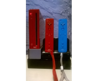 Console Wii rouge 2