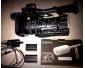 Caméra Sony HXR-NX3 (+ micro Sony ECM-VG1)