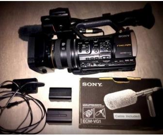 Caméra Sony HXR-NX3 (+ micro Sony ECM-VG1) 1