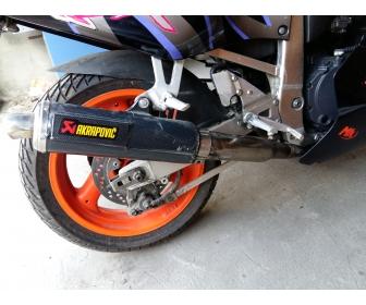 Moto gsxr 750r 3