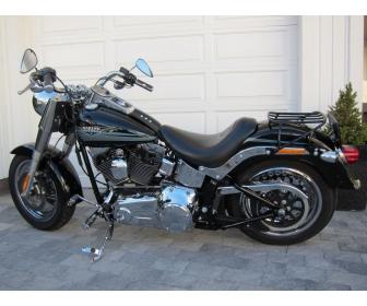 Harley-Davidson occasion Fat Boy FLSTF 4