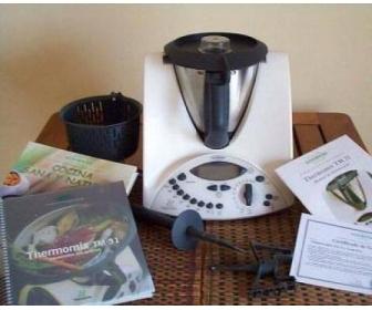 Robot multifonction thermomix tm31 de vorwerk for Robot cuisine vorwerk thermomix prix