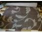 Tapis brun et beige occasion (160 cm x 240 cm)