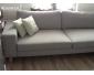 canapé occasion en L tissu gris
