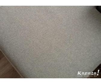 canapé occasion en L tissu gris 3
