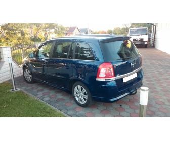Opel Zafira 1,7 CDTI OPC line 2