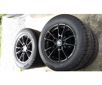 Jantes BMW alu+pneus neige 1