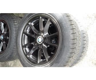 Jantes BMW alu+pneus neige 3