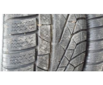 Jantes BMW alu+pneus neige 4