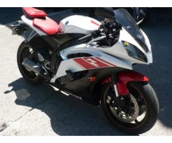 Yamaha YZF occasion R6 600 rouge/blanche 1