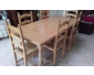 A vendre table occasion + 6 chaises