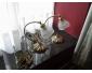 2 lampes de chevet en bronze  40 euros pièce