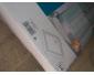 Douche- Bac de 90x90 en fonte émaillée blanc