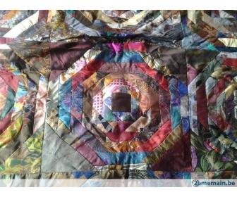 Couvre lit double-patchwork         Prix n 1