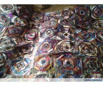 Couvre lit double-patchwork         Prix n 3