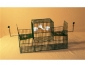 cage à oiseaux à deux trébuchets