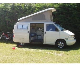 camping car VW t4 2.5 l 102 ch. court 2000 Diesel 3