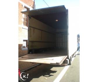 pour déménagement loue camion 20M avec 2 hommes 1