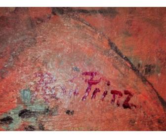 Peinture de Renée Prinz signée 2