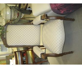 fauteuil ancien louis XV 1