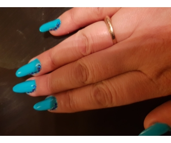 Manicure les  Angles en gel uv 2