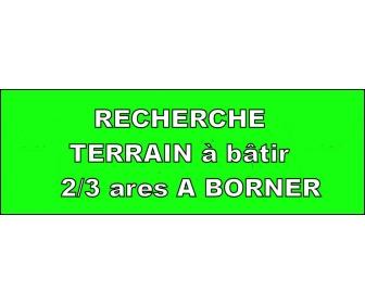 Recherche petit terrain à bâtir (2/3 ares) NO Namur 1