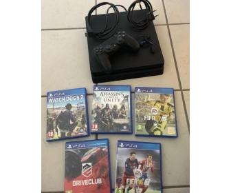 PS4 slim 1 TO avec 5 jeux offerts 3