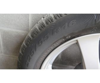 4 pneus hiver montés sur jantes 4