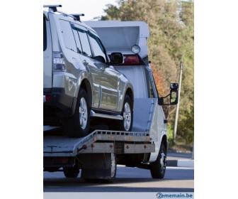 dépannage auto voiture remorquage panne batterie 0489/505-942 1